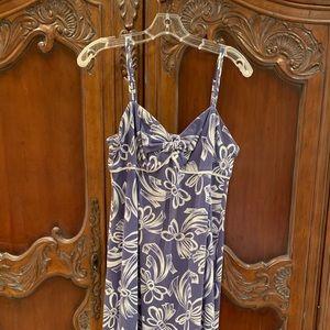 Tommy Bahama sundress, lavender and white